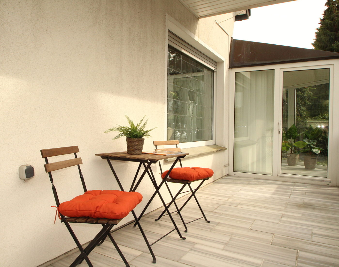 Blickfang Home Staging verwandelt Häuser in ein Zuhause und auch der Aussenbereich wird optisch aufbereitet und liebevoll präsentiert