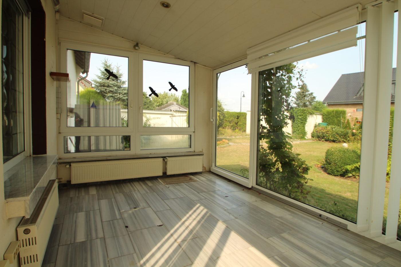 Vorher Foto Blickfang Homestaging, leere und geerbte Immobilie vor dem Home Staging