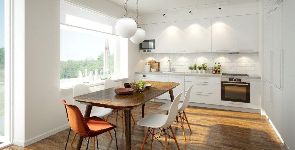 Küche und Esstisch. Blickfang Homestaging in Soest