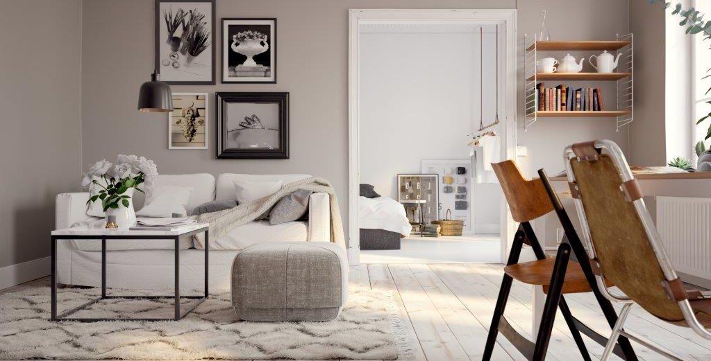 Wohn- und Essbereich. Blickfang Homestaging in Soest