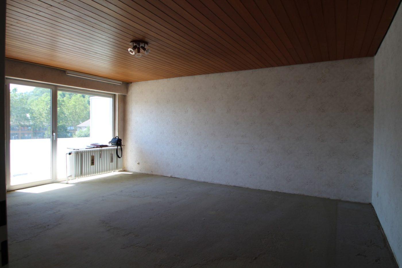 Vorher Foto eines Wohnzimmers, Blickfang Homestaging Soest