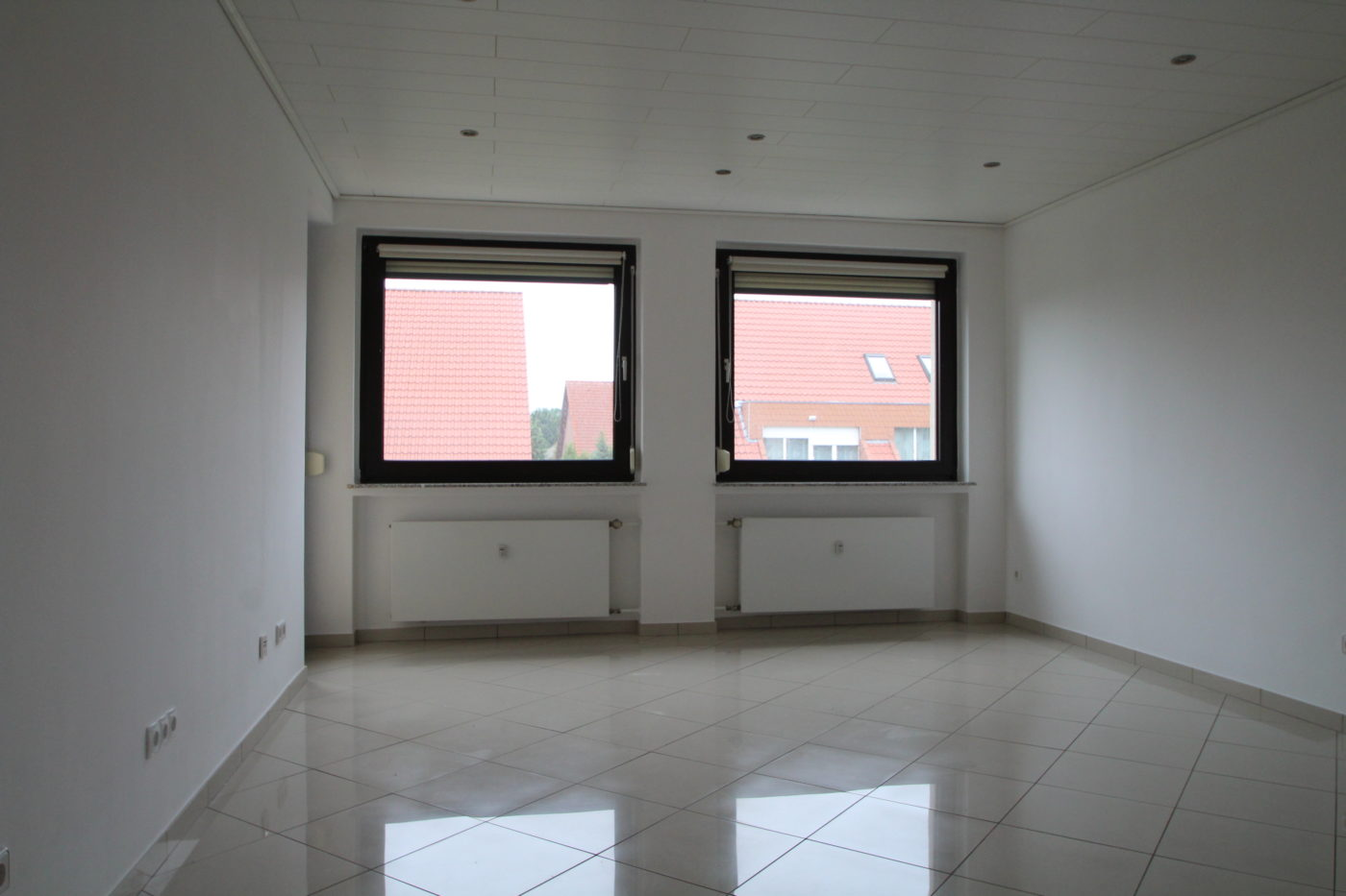 Vorher Foto vom Wohnzimmer. Wohnzimmer vor dem Homestaging durch Blickfang Homestaging in Soest