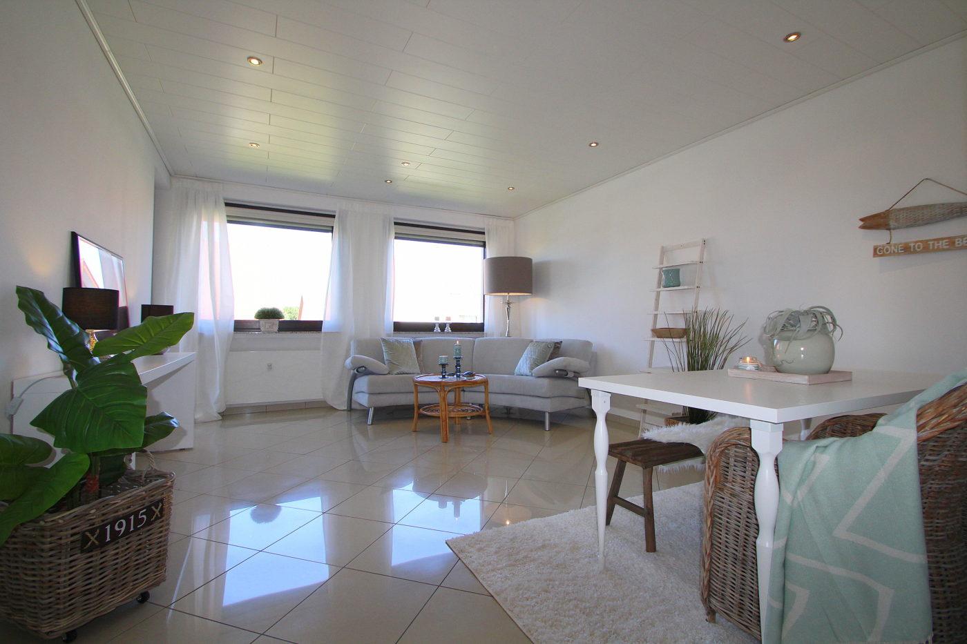 Wohnzimmer nach dem Homestaging durch Blickfang Homestaging in Soest