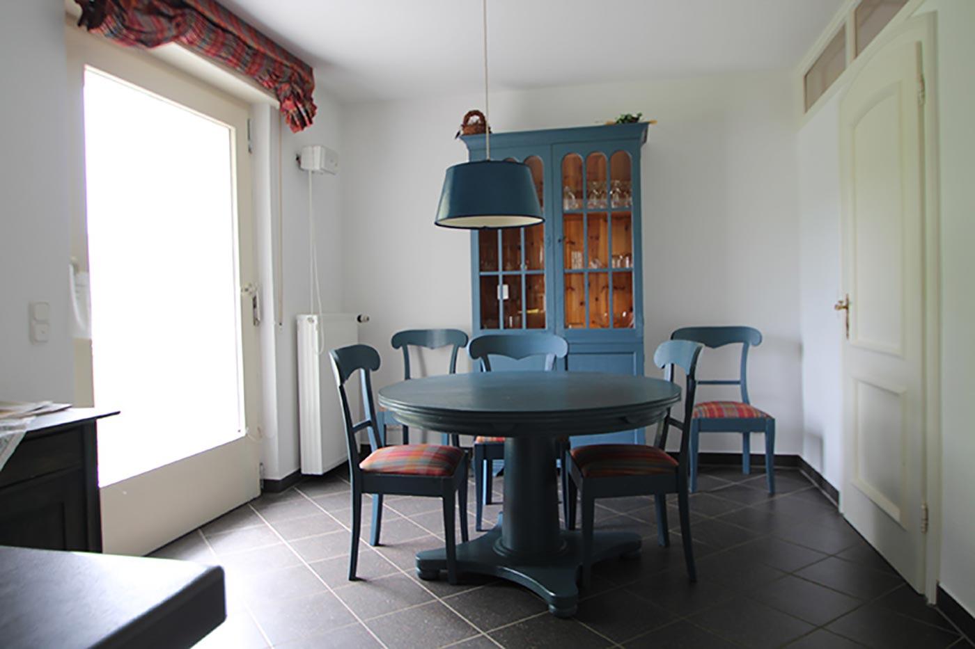 Vorher-Foto vom Essbereich in der Küche | Blickfang Homestaging in Soest