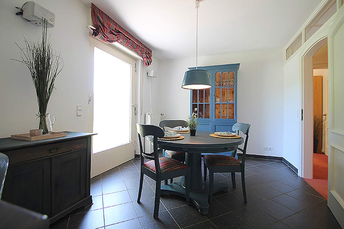 Homestaging für den Essbereich in der Küche durch Blickfang Homestaging in Soest