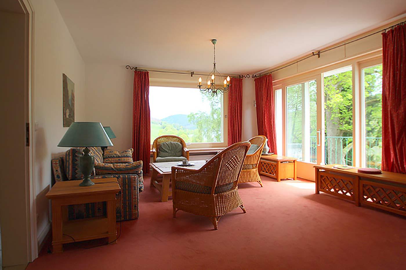 Vorher-Foto vom Wohnzimmer | Blickfang Homestaging in Soest