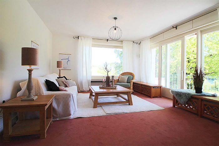 Homestaging für das Wohnzimmer durch Blickfang Homestaging - Nicole Biernath