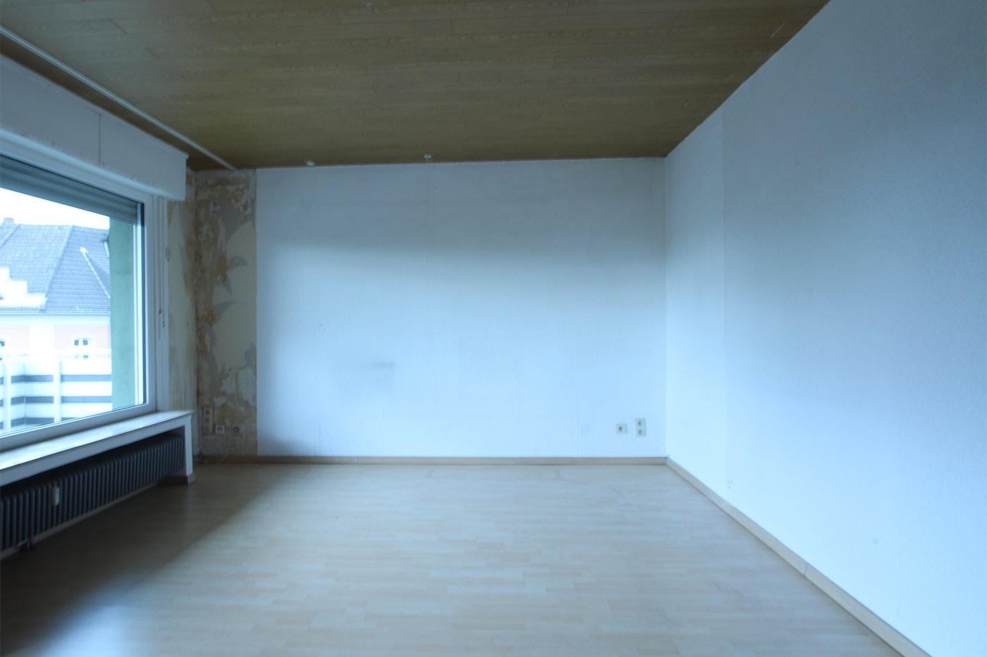 Vorher-Foto vom Wohnbereich | Blickfang Homestaging in Soest