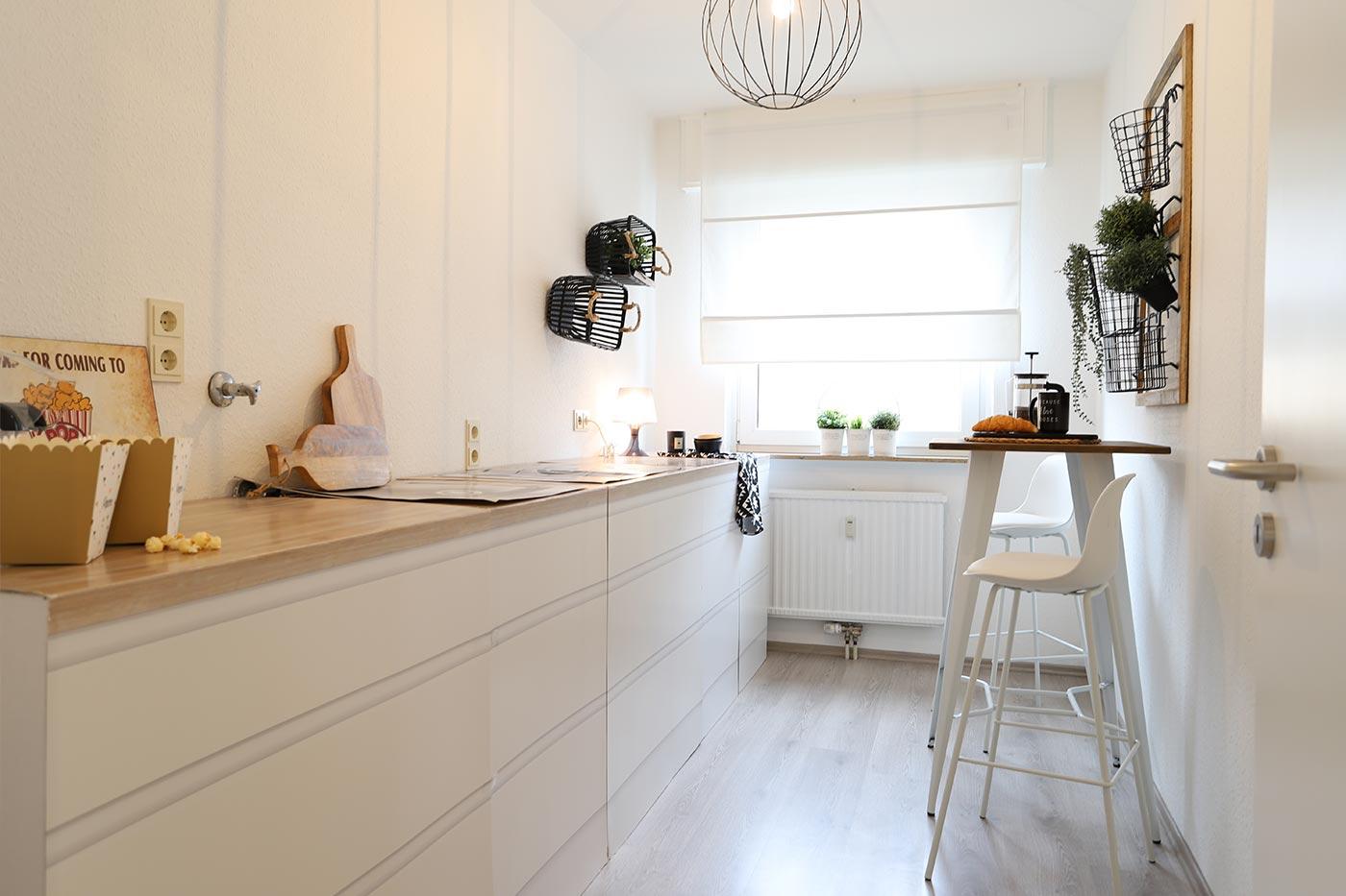 Homstaging für die Küche durch Blickfang Homestaging