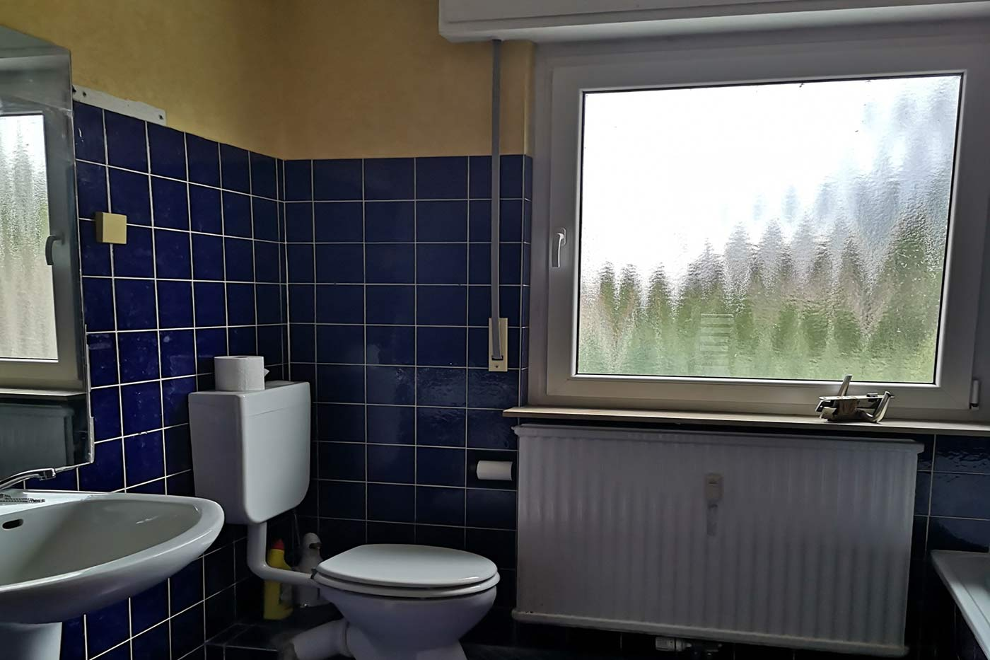 Vorher-Foto vom Bad | Blickfang Homestaging in Soest