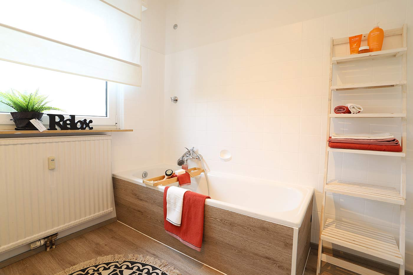 Homestaging im Badezimmer durch Blickfang Homestaging in Soest
