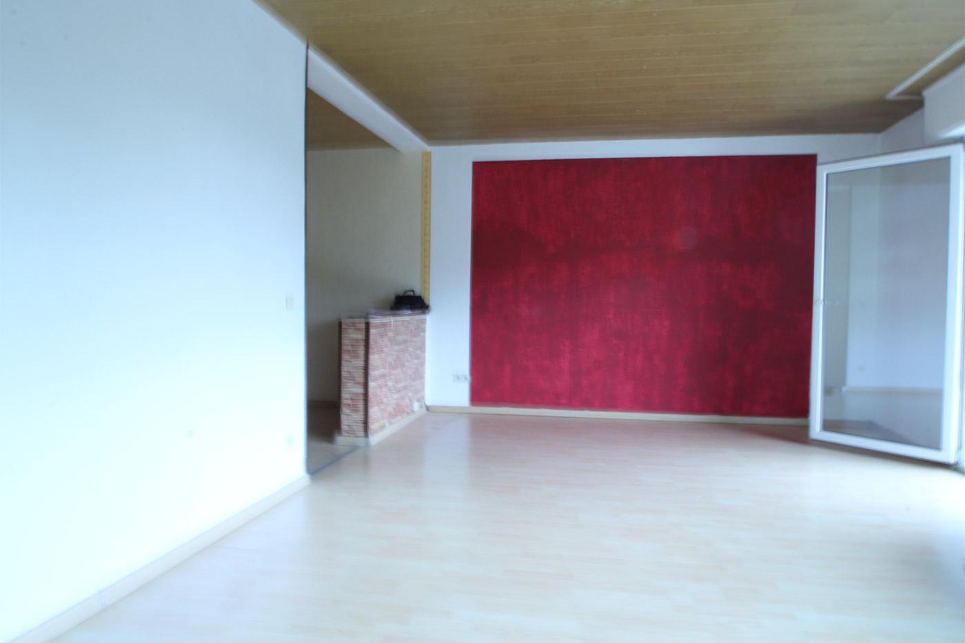 Vorher-Foto Esszimmerbereich