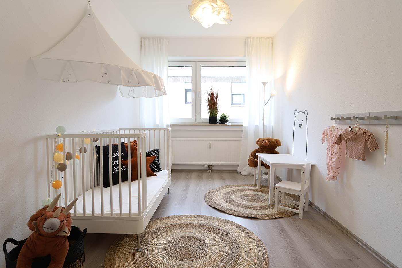 Homstaging für das Kinderzimmer durch Blickfang Homestaging