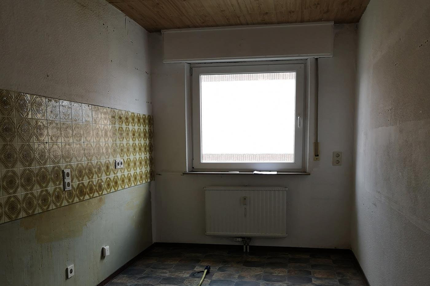 Vorher-Foto der Küche | Blickfang Homestaging in Soest